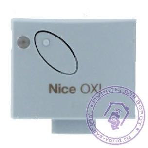 Инструкция NICE OXI