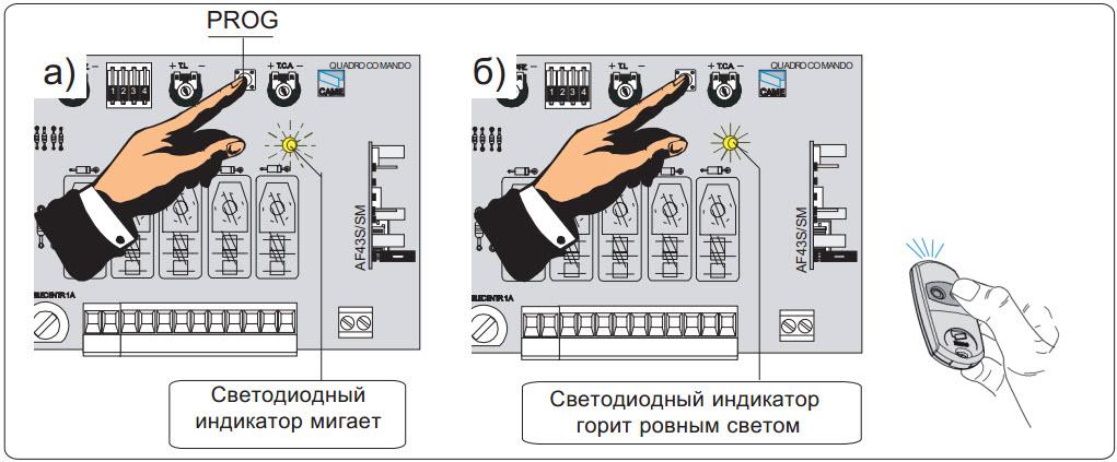 Программирование AF43RU